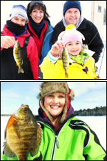 Ice Fishing Angler's Choice Guide Service John Andrew large Walleye