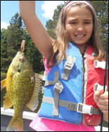 Fishing Kids Bluegill